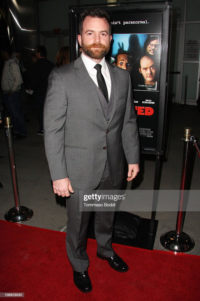 Michael Tiddes attends the 'A Haunted House' Los Angeles premiere held at the ArcLight Hollywood on January 3, 2013 in Hollywood, California.
