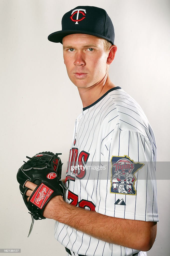 Michael Tonkin #72 of the Minnesota Twins poses for a portrait on February 19, 2013 at Hammond Stadium in Fort Myers, Florida.