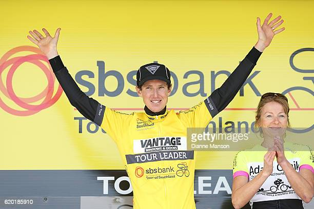Michael Torckler from Cambridge claims the yellow jersey during stage three to Coronet Peak of the 2016 Tour of Southland on November 02 2016 in...