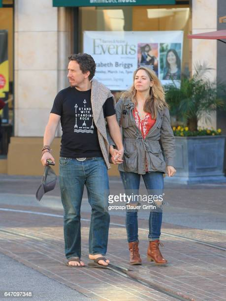 Michael Traynor and Brooke Nevin are seen on March 01 2017 in Los Angeles California