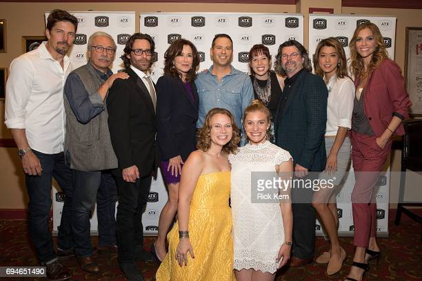 Michael Trucco Edward James Olmos James Callis Mary McDonnell editor at large Entertainment Weekly James Hibberd coexecutive director ATX Television...