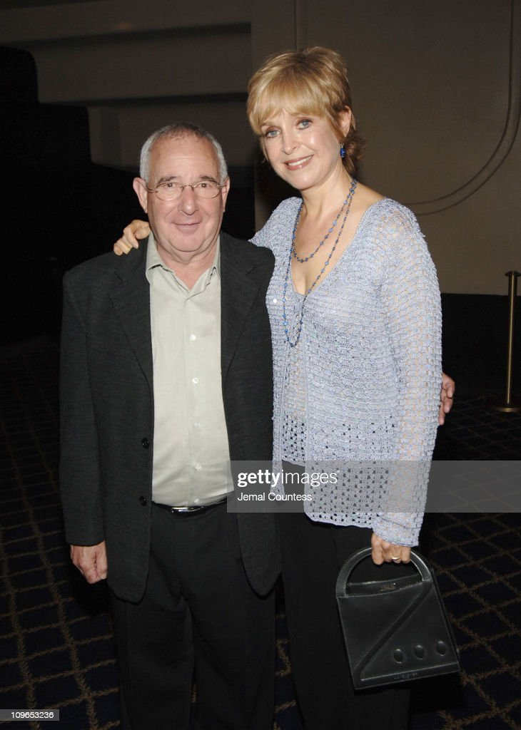 Michael Tucker and <a gi-track='captionPersonalityLinkClicked' href=/galleries/search?phrase=Jill+Eikenberry&family=editorial&specificpeople=642274 ng-click='$event.stopPropagation()'>Jill Eikenberry</a> during Broadway's Celebrity Benefit for Hurricane Relief - Backstage at The Gershwin Theatre in New York City, New York, United States.