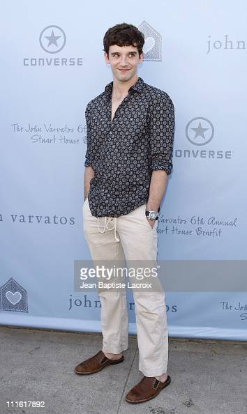 Michael Urie arrives to the John Varvatos 6th Annual Stuart House Benefit at the John Varvatos store on March 9 2008 in West Hollywood California