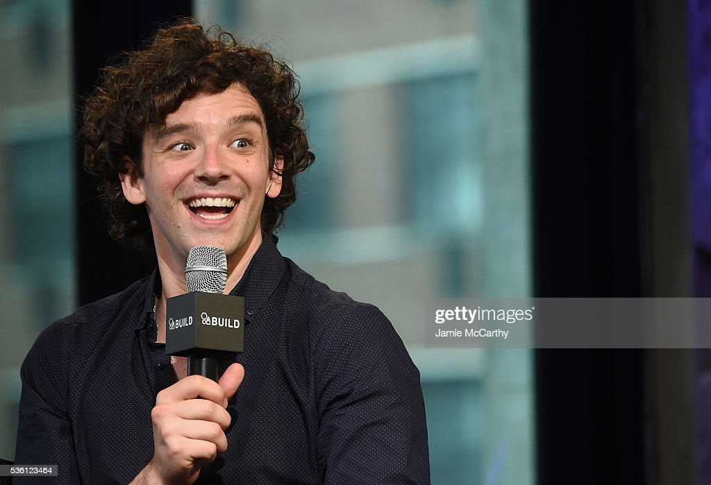 Michael Urie attends the AOL Build Speaker Series - Michael Urie Discusses Hosting The 61st Drama Desk Awardsat AOL Studios In New York on May 31, 2016 in New York City.