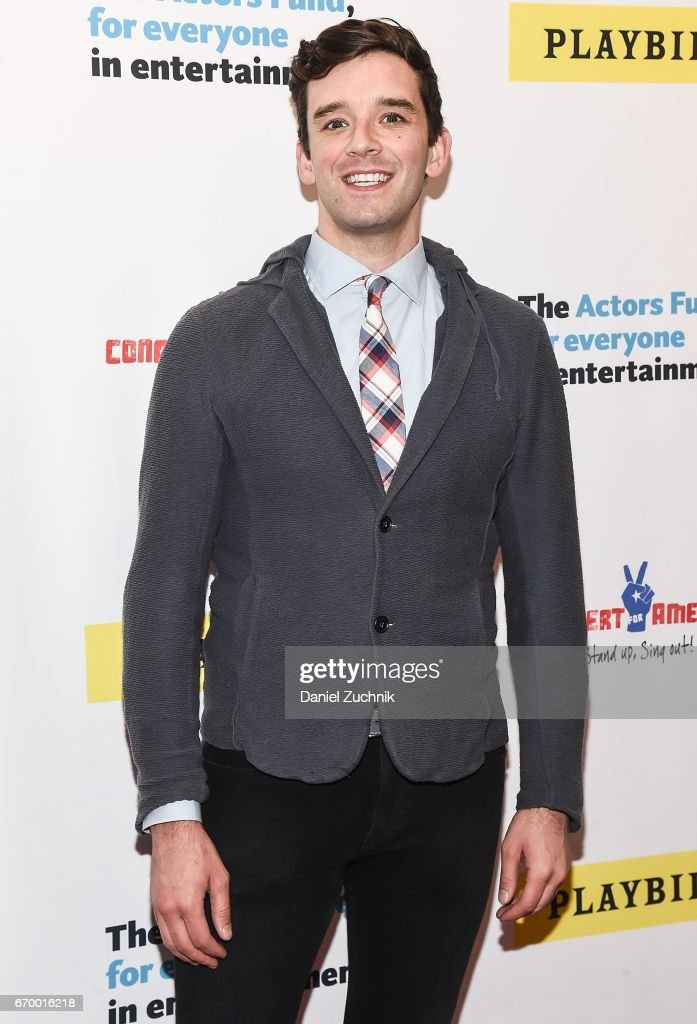 Michael Urie attends the Concert For America: Stand Up, Sing Out! at Town Hall on April 18, 2017 in New York City.