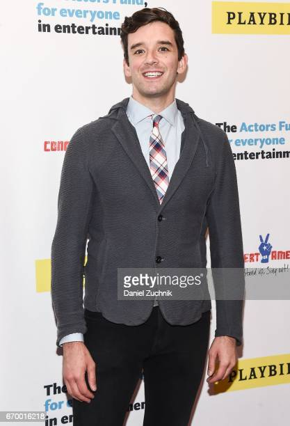 Michael Urie attends the Concert For America Stand Up Sing Out at Town Hall on April 18 2017 in New York City