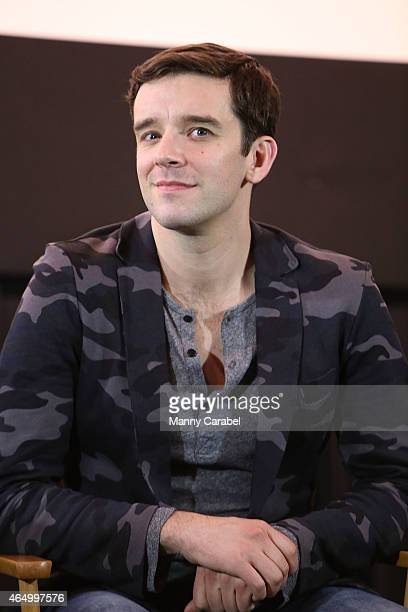 Michael Urie attends the 'WTC View' 10th Anniversary Screening at Anthology Film Archives on March 2 2015 in New York City
