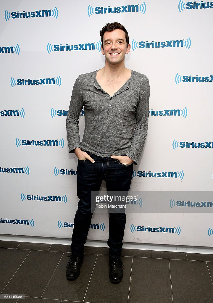 Michael Urie visits at SiriusXM Studios on January 10, 2017 in New York City.