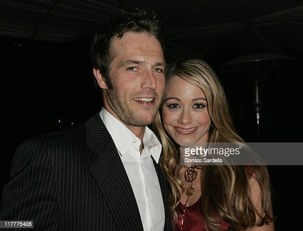 Michael Vartan and Christine Taylor during Ben Stiller and Christine Taylor Host a Grand Classics Screening of 'Sweet Smell of Success' with YSL at...