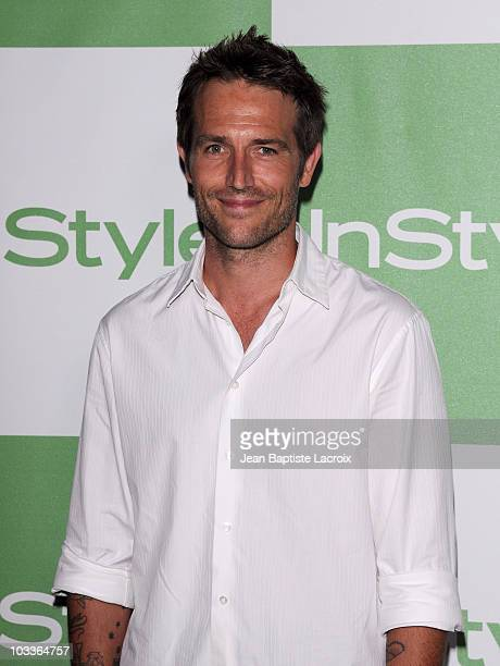 Michael Vartan arrives at the 9th Annual InStyle Summer Soiree on August 12 2010 in Los Angeles California