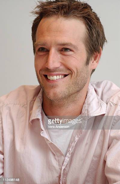 Michael Vartan during 'MonsterinLaw' Press Conference with Jennifer Lopez Jane Fonda Michael Vartan and Wanda Sykes at Four Season Hotel in Beverly...