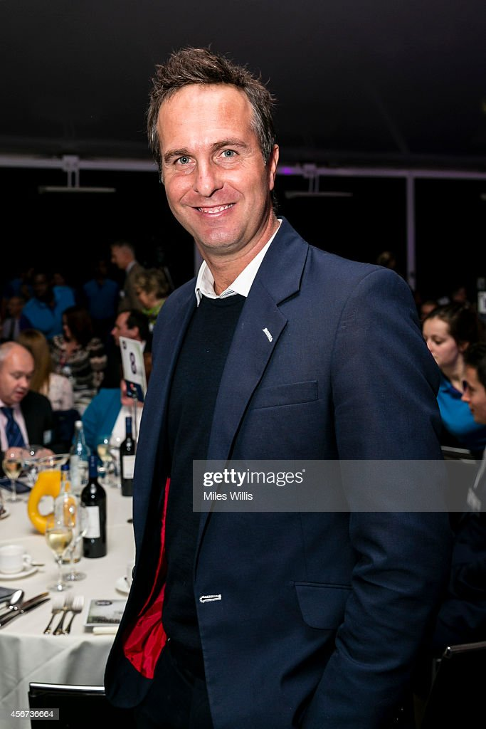 Michael Vaughan attends the NatWest OSCAs at Lords on October 6 2014 in London England
