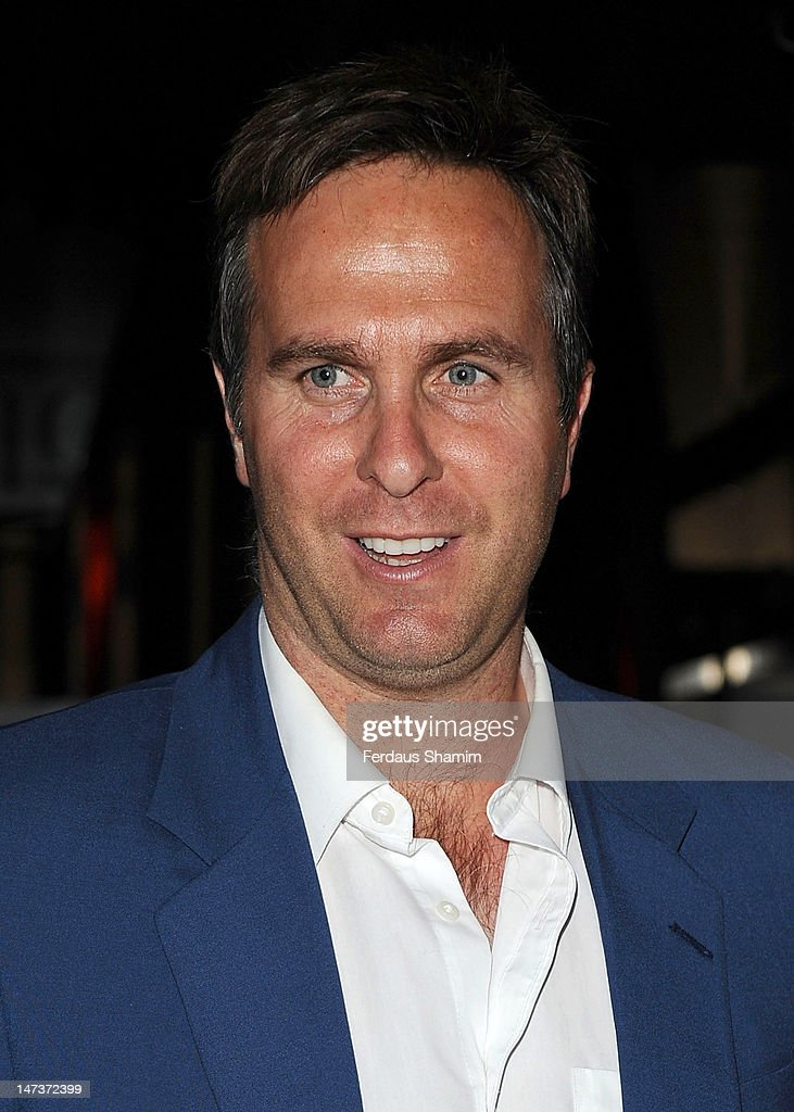 <a gi-track='captionPersonalityLinkClicked' href=/galleries/search?phrase=Michael+Vaughan&family=editorial&specificpeople=179446 ng-click='$event.stopPropagation()'>Michael Vaughan</a> attends the The Slazenger Party at Aqua on June 28, 2012 in London, England.