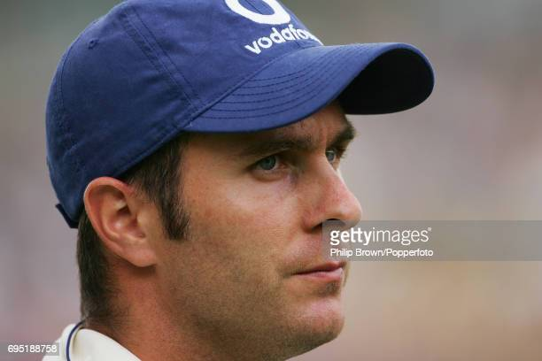 Michael Vaughan of England after losing the 1st Ashes Test match between England and Australia at Lord's Cricket Ground in London on July 24th 2005