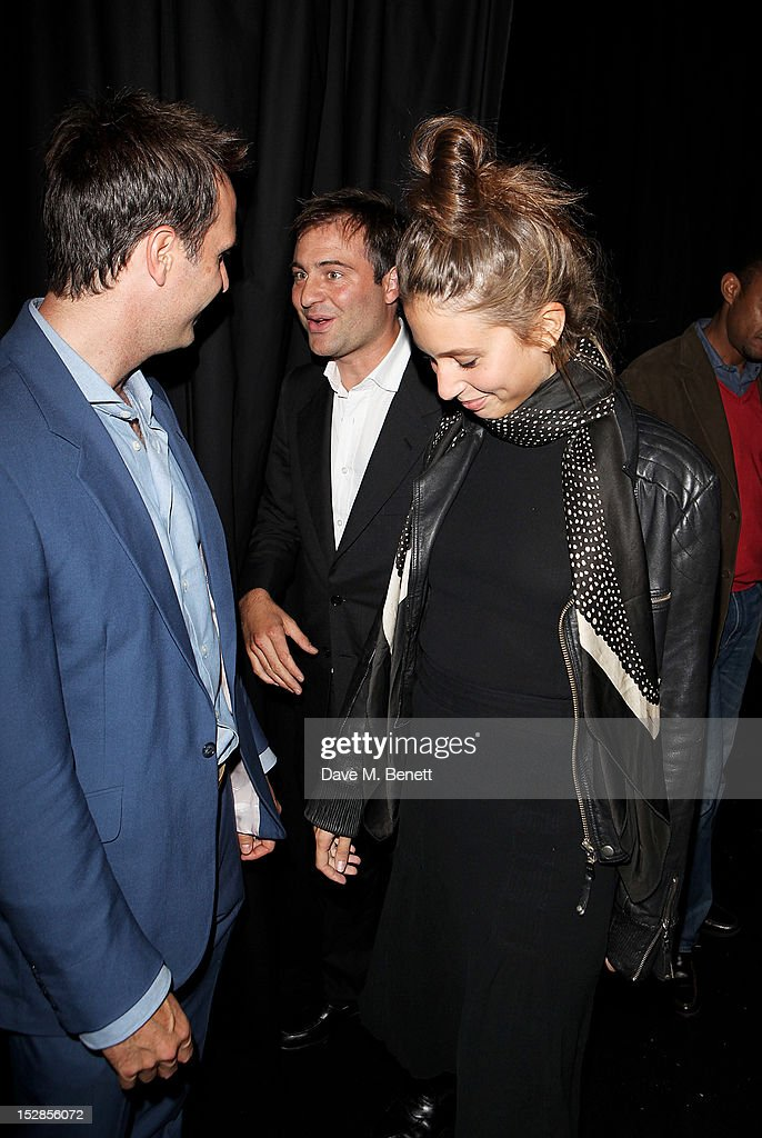 Michael Vaughn Ben Goldsmith and Jemima Jones attend a party celebrating the launch of 28 Club a new night club in the basement of Morton's Private...