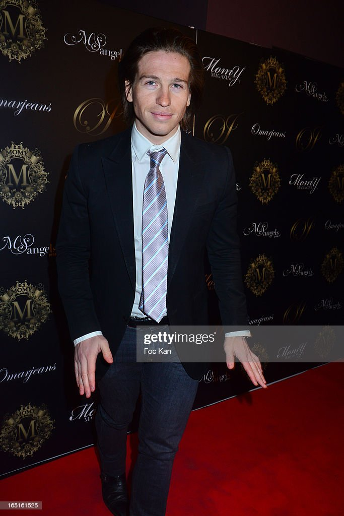 Michael Vendetta attends the 'OmarJeans' Launch Party At The Pavillon Champs Elysees on March 31, 2013 in Paris, France.