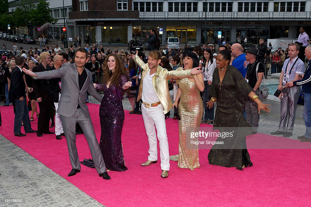 Michael von der Heide of Switzerland arrives on the pink carpet at the Eurovision Official Welcome Reception on May 23, 2010 in Oslo, Norway. In all, 39 countries will take part in the 55th Annual Eurovision Song Contest. Semi-finals are scheduled to take place on May 25-27, with the Final being held on May 29, 2010.
