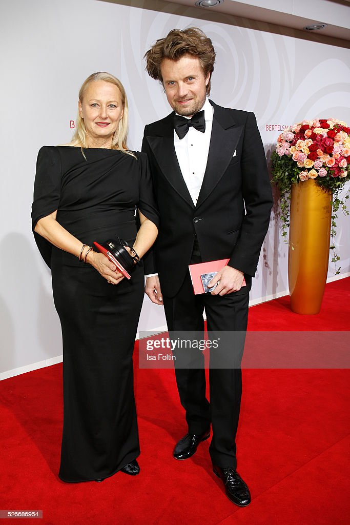 Michael von Hassel and guest attend the Rosenball 2016 on April 30, 2016 in Berlin, Germany.