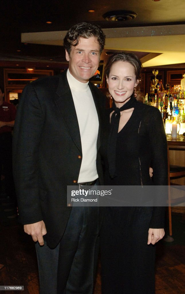 Michael Waltrip and Chely Wright during Sprint and SunTrust presents Sound Speed Day1 at Wildhorse Saloon in Nashville TN United States