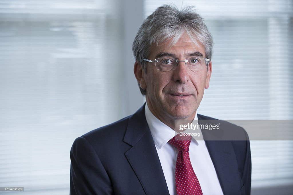 Michael Ward, managing director of Harrods luxury department store, poses for a photograph during an interview in his office in London, U.K., Monday, June 24, 2013. Harrods, which has more than 1 million square feet (90,000 square meters) of selling space, isn't concerned about the outlook for spending on luxury goods, Ward said. Photographer: Jason Alden/Bloomberg via Getty Images