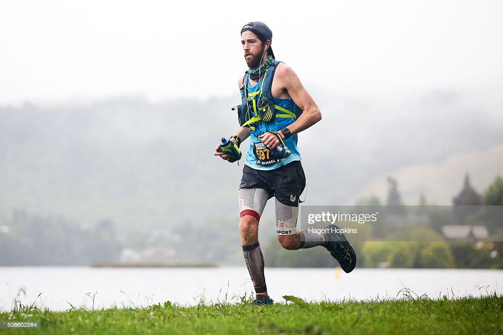 Michael Wardian of USA in action during the Tarawera Ultramarathon on February 6, 2016 in Rotorua, New Zealand.