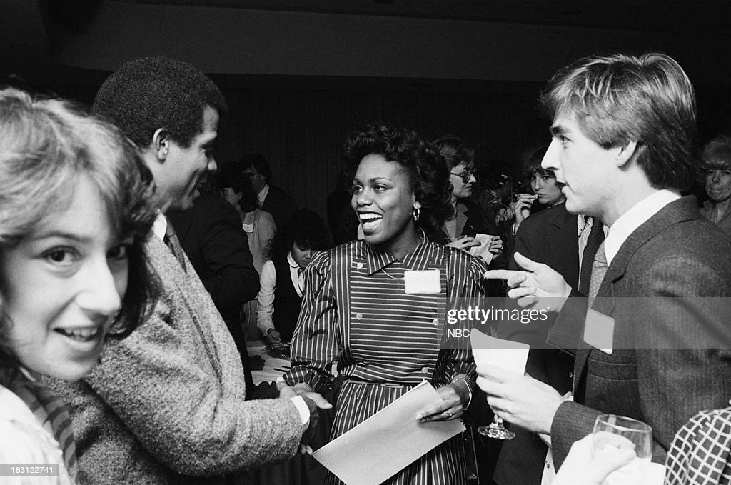 BLUES 'Michael Warren in Washington DC' Pictured Actor Michael Warren Anita Hill in 1983