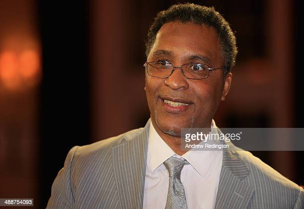 Michael Watson MBE former boxer is pictured during the Pound 4 Pound Charity fundraiser for Fight4change on May 7 2014 in London England