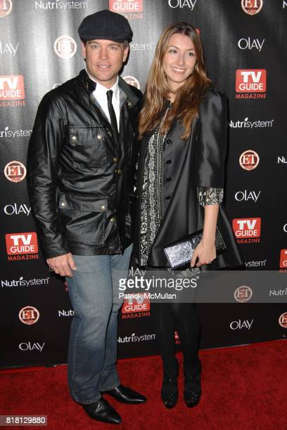 Michael Weatherly and Bojana Jankovic attend TV GUIDE MAGAZINE'S 2010 HOT LIST at Drai's on November 8th 2010 in West Hollywood California