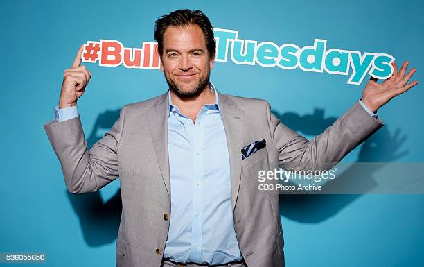 Michael Weatherly at the CBS Upfront 2016 in Carnegie Hall on Wednesday May 18 BULL premieres in fall 2016 on the CBS Television Network