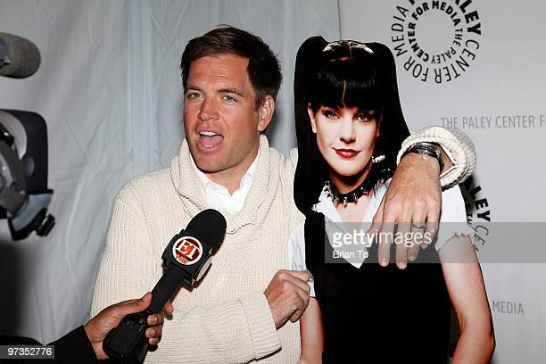 Michael Weatherly attends 27th annual PaleyFest 'NCIS' at Saban Theatre on March 1 2010 in Beverly Hills California
