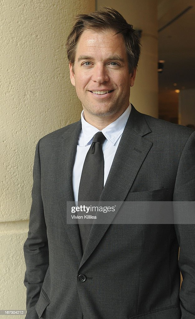 <a gi-track='captionPersonalityLinkClicked' href=/galleries/search?phrase=Michael+Weatherly&family=editorial&specificpeople=3321266 ng-click='$event.stopPropagation()'>Michael Weatherly</a> attends Liberty Hill's Upton Sinclair Awards Dinner Honors - Show at The Beverly Hilton Hotel on April 23, 2013 in Beverly Hills, California.