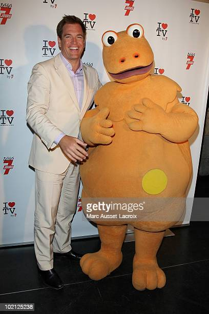 Michael Weatherly attends the 1st edition of 'La Fete de la Tele' at Le Showcase on June 15 2010 in Paris France