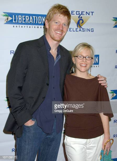 Michael Weaver and Rachael Harris during 'Stephanie Daley' Los Angeles Screening Arrivals at Regent Showcase Theatre in Hollywood California United...