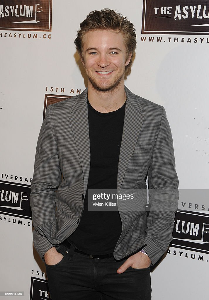 Michael Welch attends The Asylum's 15th Anniversary at Pacific Park - Santa Monica Pier on November 5, 2012 in Santa Monica, California.