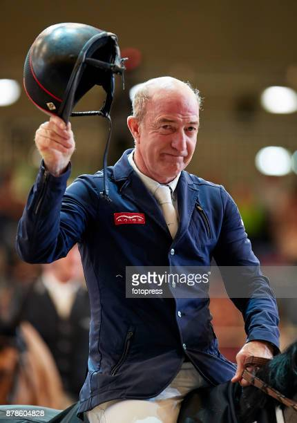 Michael Whitaker attends the Madrid Horse Week 2017 at IFEMA on November 24 2017 in Madrid Spain