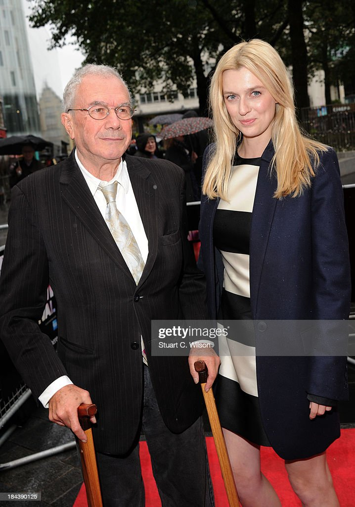 Michael White and Gracie Otto attend a screening of 'The Last Impresario' during the 57th BFI London Film Festival at Odeon West End on October 13, 2013 in London, England.