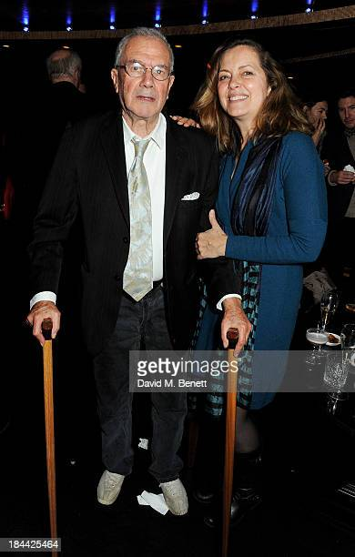 Michael White and Greta Scacchi attend a postscreening party for 'The Last Impresario' during the 57th BFI London Film Festival at The Arts Club on...