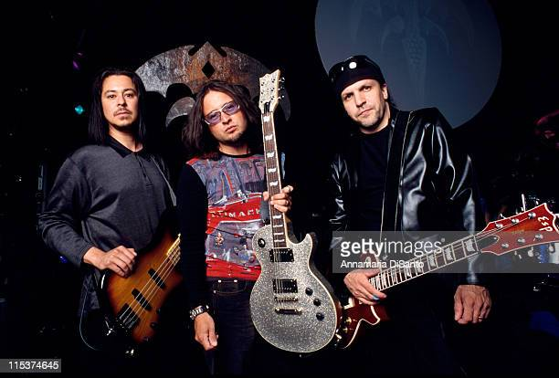 Michael Wilton Kelly Gray Eddie Jackson of Queensryche