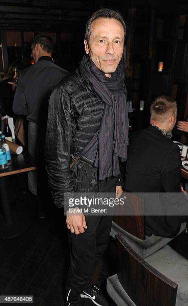 Michael Wincott attends Fran Cutler's birthday dinner at Bo Lang on May 1 2014 in London England