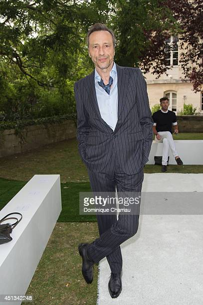 Michael Wincott attends the Berluti show as part of the Paris Fashion Week Menswear Spring/Summer 2015 on June 27 2014 in Paris France