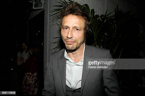 Michael Wincott attends THE CINEMA SOCIETY HUGO BOSS after party for 'FRACTURE' at Gramercy Park Hotel on April 17 2007 in New York City