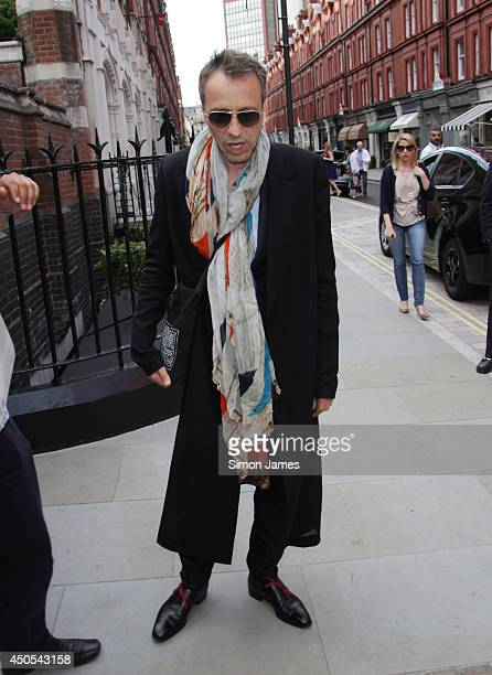 Michael Wincott seen arriving to the Chiltern Firehouse on June 12 2014 in London England