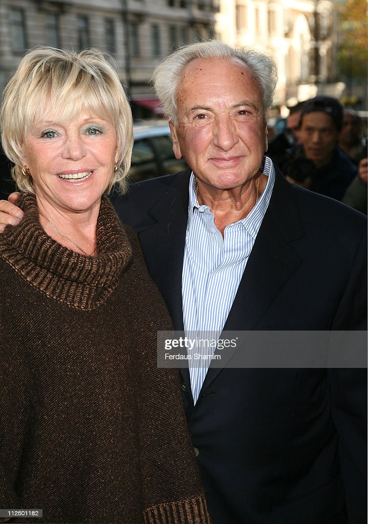 Michael Winner and guest during The Old Vic Fundraiser - VIP Lunch - Arrivals at Fifty in London, Great Britain.