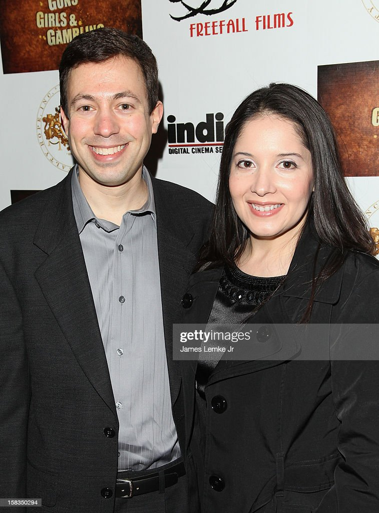Michael Winnick and Leticia Winnick attend the Los Angeles Screening 'Guns, Girls & Gambling' held at the Laemlle NoHo 7 on December 13, 2012 in North Hollywood, California.