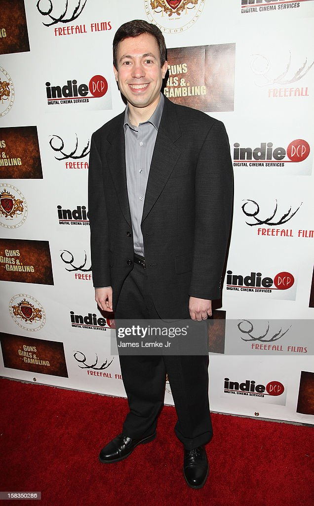 Michael Winnick attends the Los Angeles Screening 'Guns, Girls & Gambling' held at the Laemlle NoHo 7 on December 13, 2012 in North Hollywood, California.