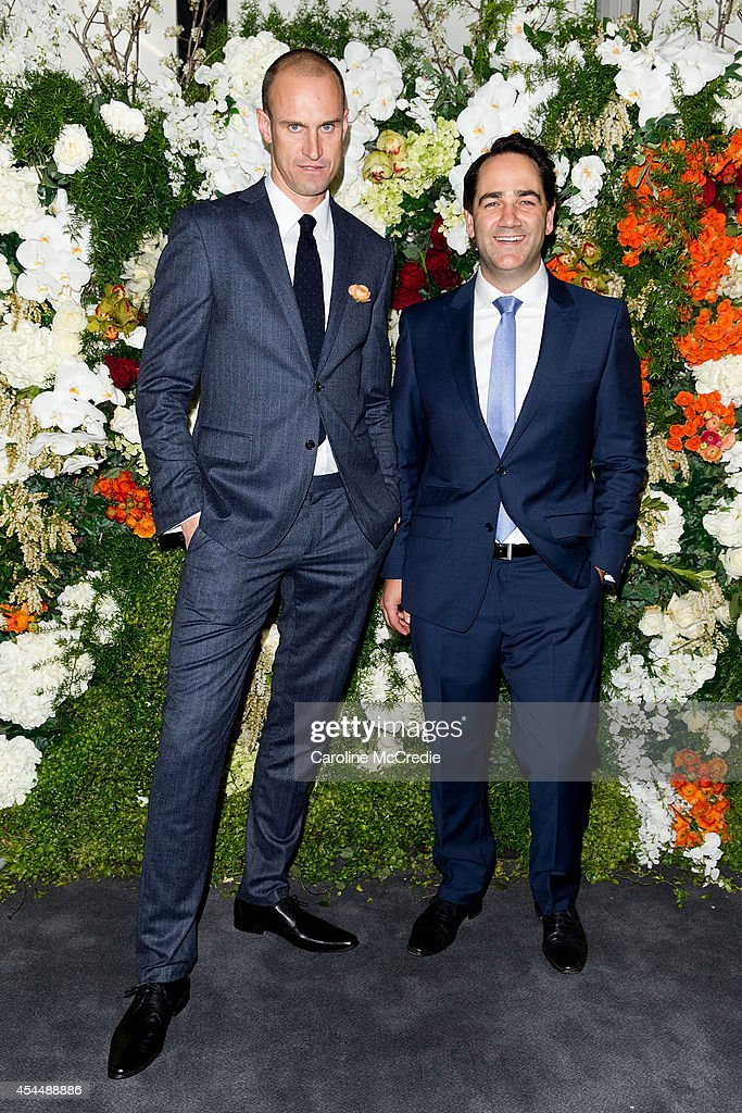 Michael 'Wippa' Wipfli poses at the launch of the 2014 Sydney Spring Carnival at Royal Randwick Racecourse on September 2, 2014 in Sydney, Australia.
