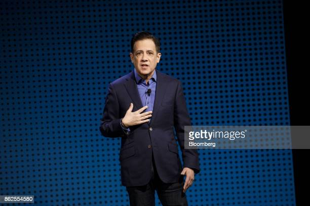 Michael Wolf cofounder and managing director of Activate speaks during the Wall Street Journal DLive global technology conference in Laguna Beach...