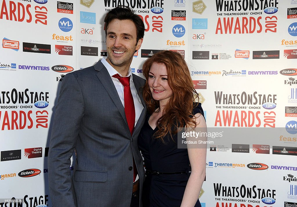Michael Xavier attends the Whatsonstage.com Theatre Awards nominations launch at Cafe de Paris on December 7, 2012 in London, England.