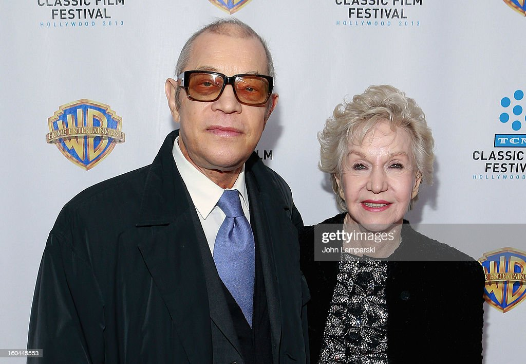 <a gi-track='captionPersonalityLinkClicked' href=/galleries/search?phrase=Michael+York&family=editorial&specificpeople=209058 ng-click='$event.stopPropagation()'>Michael York</a> and Patricia York attend 'Cabaret' 40th Anniversary New York Screening at Ziegfeld Theatre on January 31, 2013 in New York City.