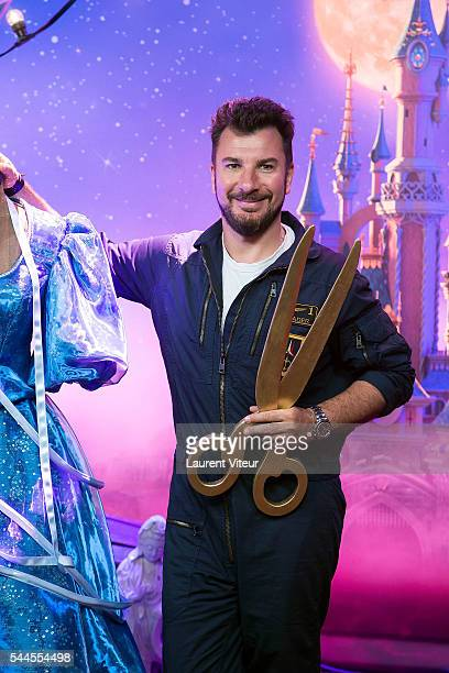 Michael Youn attends the new show of Disneyland Paris 'Mickey et le Magicien' at Disneyland Paris on July 2 2016 in Paris France